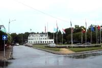 Stadtzentrum der Hauptstadt Paramaribo, Suriname