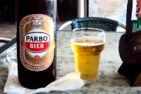 Bier aus Suriname, ein kühles Blondes in Äquatornähe...