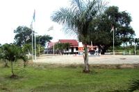 Fort Amsterdam in Suriname, Südamerika, ehemalige holländische Kolonie
