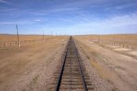 Strecke in der Mongolei