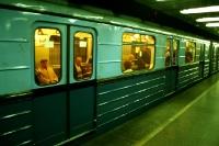 Metro in der ungarischen Hauptstadt Budapest