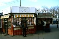 Kiosk in der ungarischen Hauptstadt Budapest