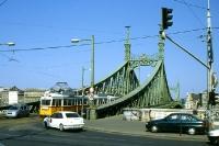 Straßenbahn in der ungarischen Hauptstaddt Budapest