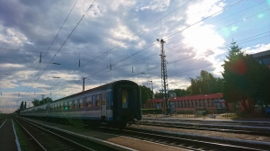 Grenzbahnhof Záhony
