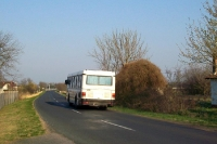Überlandbus im südlichen Ungarn