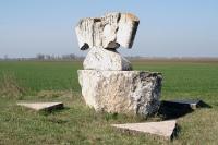 Gedenkstätte Eiserner Vorhang am Dreiländereck Ungarn, Österreich & Slowakei bei Deutsch-Jahrndorf
