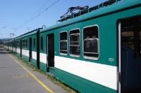 Ungarischer Nahverkehrszug bei Budapest
