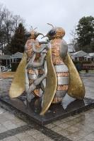Bienenskulpturen in Hohen Neuendorf