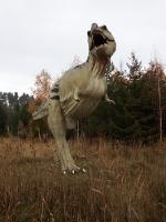 Dinosaurier im Freizeitpark Germendorf