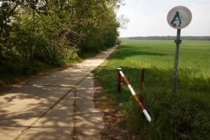 Feldweg nach Diedersdorf