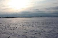 Winterlandschaft bei Werneuchen