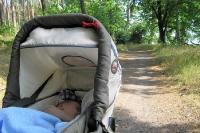 Unterwegs mit dem Baby ...