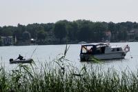 Boote auf dem Langen See