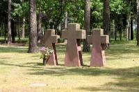 Kriegsgräberstätte / Soldatenfriedhof in Halbe