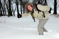 Reichlich Schnee in Brandenburg
