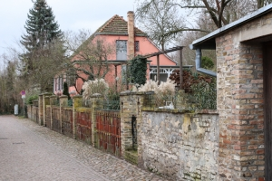 Spaziergang auf der Insel in Werder
