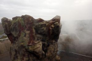 Vulkan im Dinopark Germendorf