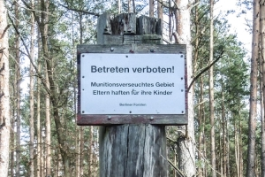 Wandern in der Schönower Heide