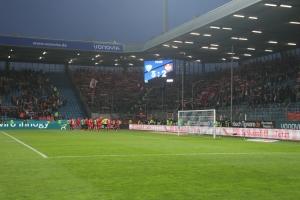 Kaiserslautern Fans in Bochum nach Abpfiff
