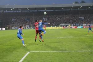 Spielszenen Kaiserslautern gegen Bochum