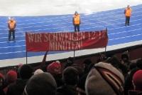 12:12 Minuten keine Stimmung, Protest gegen DFL-Papier