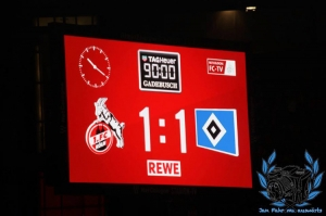 1. FC Köln vs. Hamburger SV