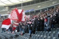 Fans des 1. FC Köln bei Hertha BSC