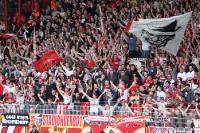 Fans des 1. FC Köln beim 1. FC Union Berlin