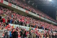 Fans des 1. FC Köln, gegen 1. FC Union Berlin