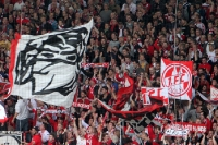Fans des 1. FC Köln zu Gast beim 1. FC Union Berlin