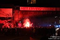 Fans des 1. FC Köln auf dem Weg zum VfL Bochum, Saison 2009/10
