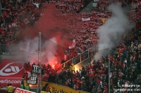 Fans des 1. FC Köln zündeln bei Borussia Mönchengladbach, 2009/10