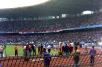 Müngersdorfer Stadion des 1. FC Köln Anfang der 90er Jahre