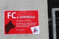 Spürhunde beim 1. FC Köln im Einsatz