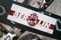 Aufkleber: 1. FC Köln Fanklub in Berlin