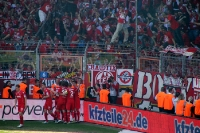 Köln bejubelt Tor in Bochum 04-05-2013