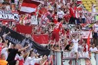 Kölner Fans bei der SG Dynamo Dresden