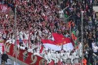 Kölner Fans in Gladbach 2015