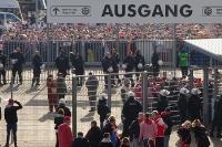Polizeieinsatz beim Köln Spiel in Gladbach