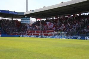 Pyroshow FC Köln Fans in Bochum
