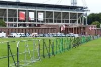 Stadion des 1. FC Köln vor dem Derby gegen Fortuna Düsseldorf