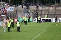 Dicke Luft bei SV Babelsberg 03 vs. 1. FC Lok Leipzig
