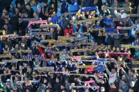 Fans des 1. FC Lok Leipzig beim Spiel gegen Magdeburg