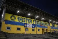 Willkommen beim 1. FC Lokomotive im Bruno-Plache-Stadion in Probstheida