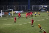 Flutlichtspiel in der Oberliga: 1. FC Lokomotive Leipzig - Rot-Weiß Erfurt II, 3:0