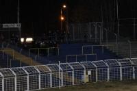 Die Fankurve 1966 wird im Bruno-Plache-Stadion derzeit kaum genutzt ...