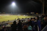 Torjubel des 1. FC Lok Leipzig: Treffer gegen Rot-Weiß Erfurt II