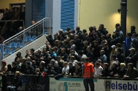 Fans des FSV 63 Luckenwalde beim Spiel gegen Lok Leipzig