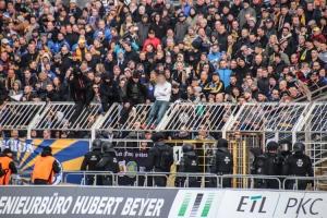 Leipziger Derby im Bruno-Plache-Stadion