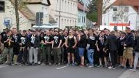 Marsch des 1. FC Lok in Markranstädt